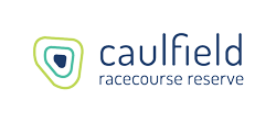 Caulfield Racecourse Reserve logo.